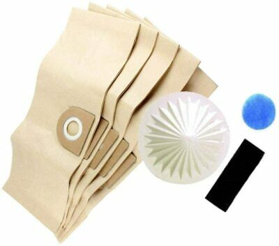Vacuum Cleaner Dust Bags For Vax 3 In 1 6131 2000 2001 Filter Set • 6.85£