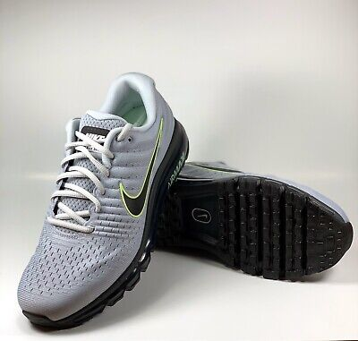 $114.99 • Buy Nike Air Max 2017 SIZE 11.5 (849559-012) Wolf Grey/ Black-Pure Platinum