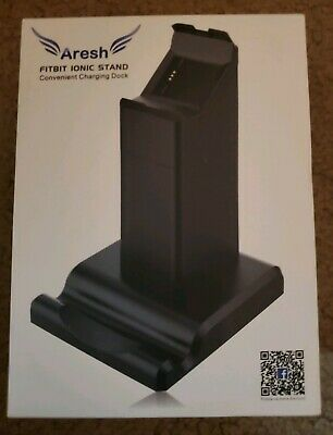 $ CDN10.38 • Buy Aresh Fitbit Ionic Stand Charging Stand W/Phone Stand Dock, Cradle Holder.