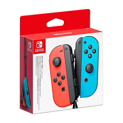 $39 • Buy Nintendo Switch Joy-Con Controller - Neon Red/Neon Blue Brand New Sealed