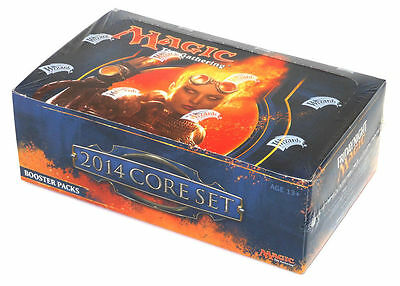 $199.95 • Buy Magic The Gathering MTG 2014 Core Edition (M14) Fact Sealed 36 Pack Booster Box