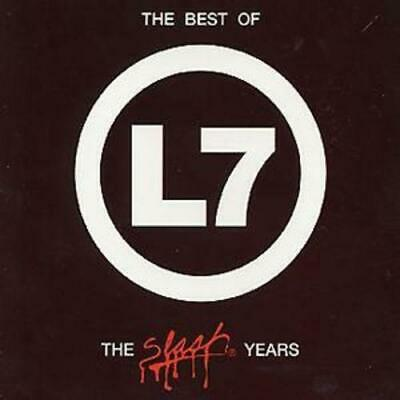 L7 : The Best Of L7: The Slash Years CD (2000) Expertly Refurbished Product • 29.99£