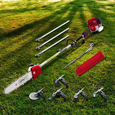 AU375.99 • Buy Pole Chainsaw 4 Stroke Brush Cutter Hedge Trimmer Whipper Snipper Multi Tool