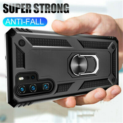 $ CDN6.28 • Buy For Samsung Note 20 Ultra 10 Plus Military Armor Case Magnetic Ring Stand Cover