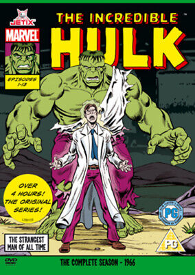 The Incredible Hulk: The Complete Series DVD (2008) Jack Kirby Cert PG • 17.29£