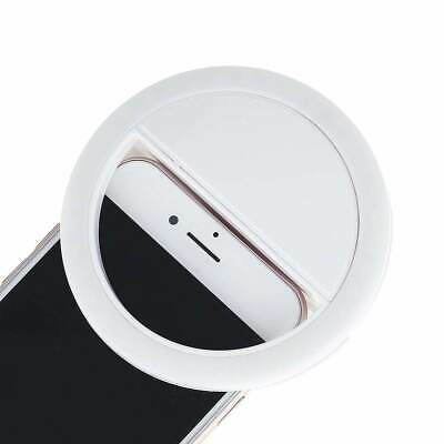 Phone Light Selfie Portable LED Ring Flash Fill For IPhone Samsung Android LG • 7.14£