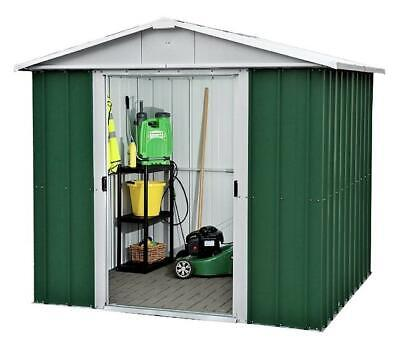 846 Returned Yardmaster Apex Metal Garden Shed - Max External Size 7'11 X 6'5  • 179.99£
