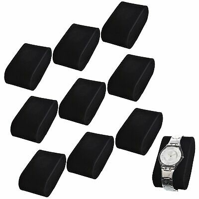 £10.42 • Buy 10Pcs Velvet Watch Pillow Cushion Display Case Holder Jewelry Accessory Gift Box