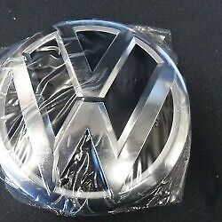 Genuine  Vw Touareg 11-14 Front Chrome Vw Bonnet Badge Emblem 7p6853601aulm • 45.19£