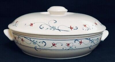 $19.99 • Buy Mikasa ANNETTE 1.5 Quart Round Covered Handled Casserole Dish EXCELLENT
