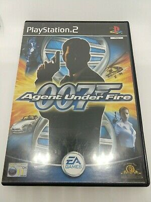 James Bond 007 Agent Under Fire Sony PlayStation 2 PS2 PAL Complete Test Working • 2.89£