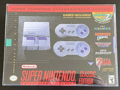 $ CDN170.90 • Buy Super Nintendo Entertainment System SNES Classic Edition BRAND NEW W/Clear Shell