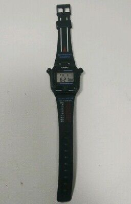 $ CDN117.37 • Buy Vintage Casio SW-200 Chronograph Watch Stopwatch Japan Tachy Meter New Battery