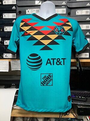 $90 • Buy Nike Club America Teal Third Jersey 2020 Playera Del America Tercera Size Small