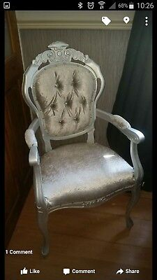 French Louis Style Carver Chairs /rococo / Italian Statement Chairs MTO  • 115£