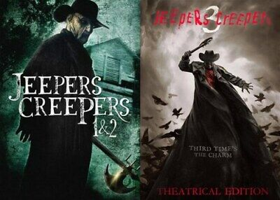 $35.99 • Buy JEEPERS CREEPERS 1 2 3 New Sealed DVD All 3 Films