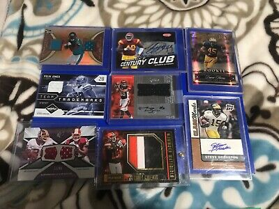 $ CDN18.27 • Buy 20 Autograph Jersey Patch Football Lot Winslow Hester Gates Rookies And #'ed