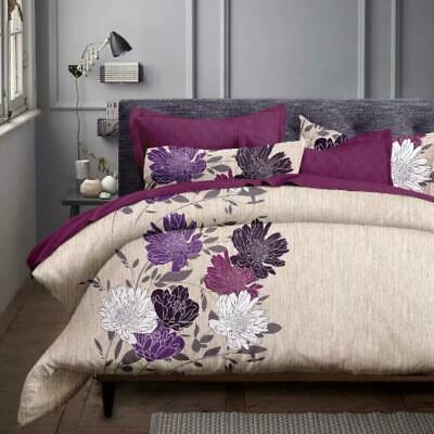 AU35 • Buy Single/KS/Double/Queen/King/Super K Soft Quilt/Duvet Cover Set-Float Flora
