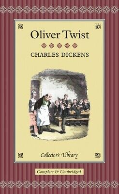 Collectors' Library: Oliver Twist By Charles Dickens (Hardback) Amazing Value • 2.96£
