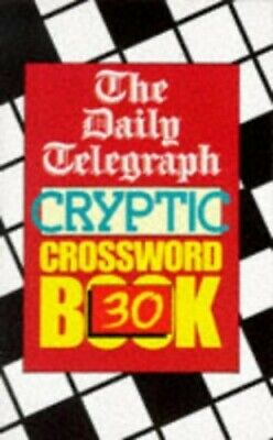 £7.99 • Buy Daily Telegraph Cryptic Crossword Book: No.... By Telegraph Group Limi Paperback