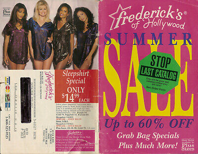 $3.50 • Buy Sizzling Summer 1997 Frederick's Of Hollywood Swimsuit And Lingerie Catalog