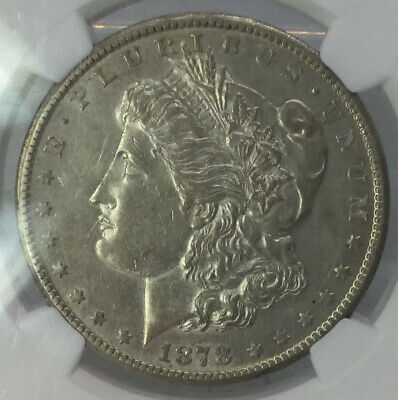 $10.49 • Buy 1878 CC Morgan Silver Dollar NGC AU Details Improperly Cleaned