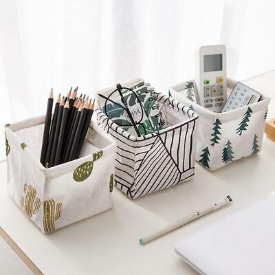 Foldable Storage Bin Colors Closet Toy Box Container Organizer Fabric Basket New • 3.42£