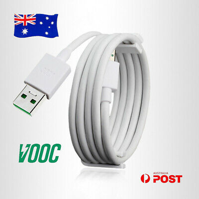 AU6.62 • Buy Original VOOC Micro USB Fast Charger Cable Lead 2M 1M Cord For Oppo AX5s AX7 AU