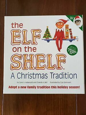 AU38.81 • Buy Elf On The Shelf : A Christmas Tradition Blue-Eyed Boy Scout Elf Free Shipping