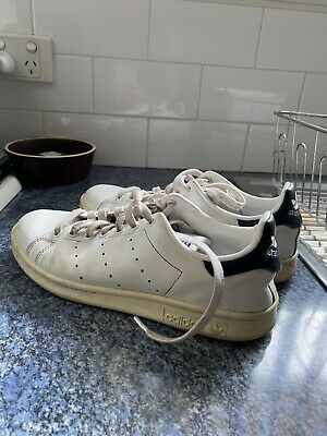 AU27 • Buy Mens Size 6 / Womens 8 Adidas STAN SMITH Casual Shoes SNEAKERS White ORIGINALS