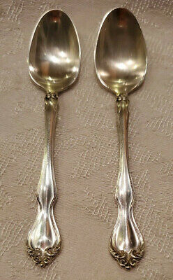$ CDN32.85 • Buy STERLING SILVER DEMITASSE SPOON LOT GEORGE & MARTHA WESTMORLAND 3 7/8  20.08g