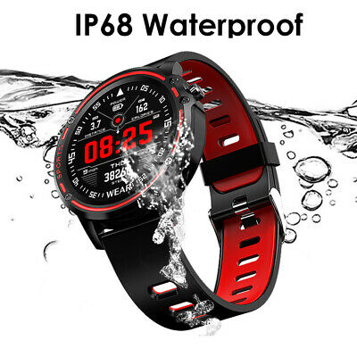 $ CDN47.13 • Buy Round Touch Screen Bluetooth Smart Watch Multi Sports For Men Women IOS Android