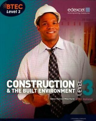 £37.64 • Buy BTEC Level 3 National Construction And The Built Environment St... 9781846906565