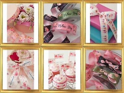 Berisfords Mothers Day Ribbon Choice Of 16 Prints  Perfect For Mum • 2.95£