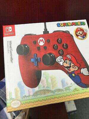 $16 • Buy Wired Mario Controller For Nintendo Switch - Red Brand New Sealed
