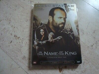 IN THE NAME OF THE KING 3 Disc SteelBook Blu-ray +2DVD Jason Statham Ron Perlman • 28.60£