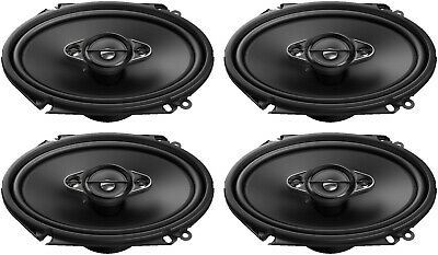 £94.44 • Buy 4) Pioneer A-SERIES TS-A6880F 350W Max 6x8  4-Way Coaxial Car Audio Speakers