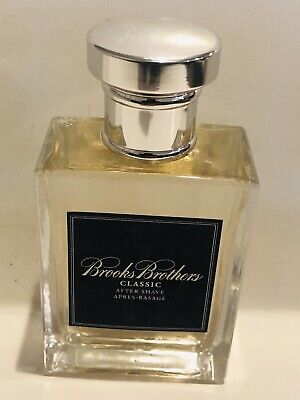 $29.49 • Buy Brooks Brothers Classic Men's 3.4oz Aftershave Flash Read Listing New Un-Box