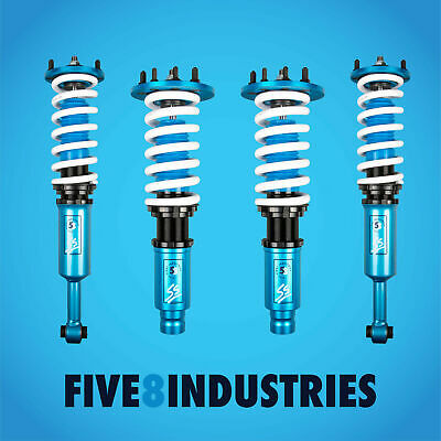 $642 • Buy For 03-07 Honda Accord CL Five8 Industries Height Adjustable Coilovers Kits
