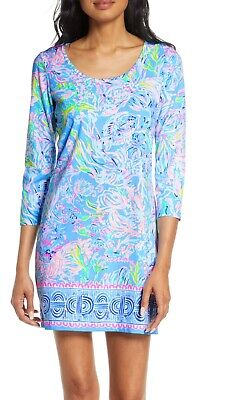 $60 • Buy Lilly Pulitzer Dress Beacon All Together Now Blue Engineered Small Nwt $108