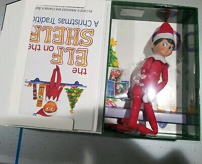 AU36.60 • Buy Elf On The Shelf A Christmas Tradition Book And Scout Elf Boy Doll New Damaged B