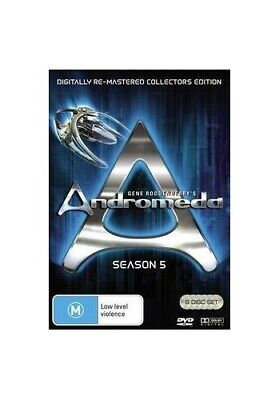 Andromeda ~ Complete Season 5 (Re-Mastered Collector's Edition) (... - DVD  1GVG • 20.98£