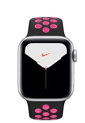 $ CDN722.67 • Buy Apple Watch Series 5 Nike 40mm Silver Aluminum Case With Pure Platinum/Black...
