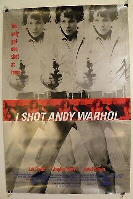 $35 • Buy I Shot Andy Warhol Original Movie Poster 1996 27 By 40  Near Mint Pop Art
