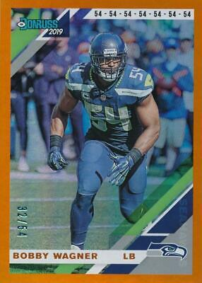 $1.95 • Buy Bobby Wagner 2019 Donruss Jersey Number #231 32/54