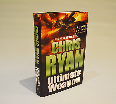 Ultimate Weapon - SIGNED - Chris Ryan - 1st Edition - Like New • 15£