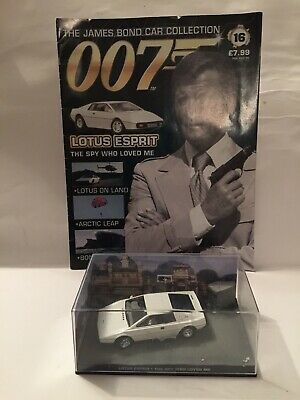 $ CDN35.12 • Buy Fabbri 1/43 Scale Diecast - Lotus Esprit - The Spy Who Loved Me With Magazine C2