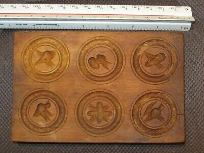 $ CDN28.75 • Buy Antique Hand Carved Wooden Butter Mold