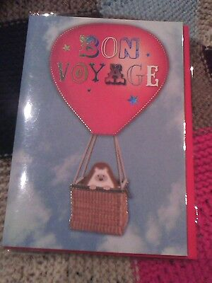 Bon Voyage Greetings Card • 1.69£