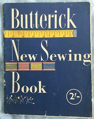 Vintage Butterick New Sewing Book, 1953 • 5.95£